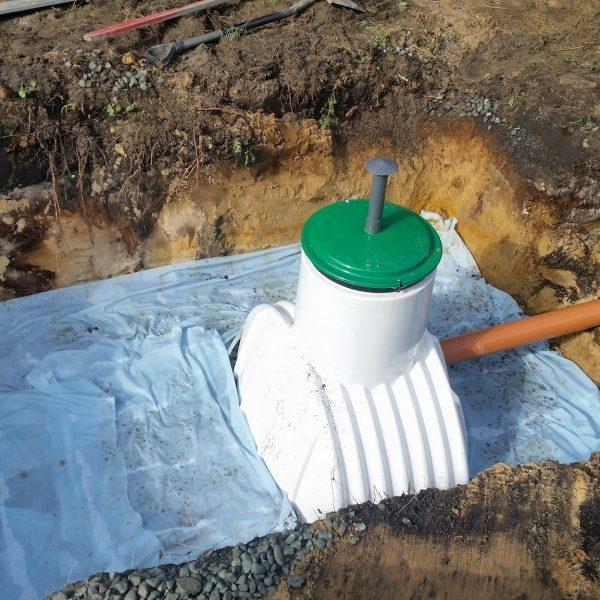 3 studnia chłonna